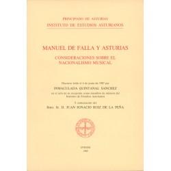Manuel de Falla y Asturias....