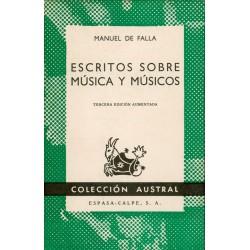 Escritos sobre música y...