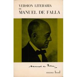 Versión literaria de Manuel...